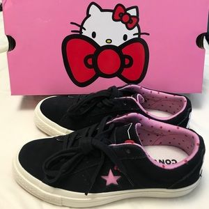 Converse x Hello Kitty One Star sneakers